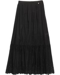 Blugirl Blumarine Long Skirt - Black
