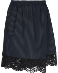 Pinko Knee Length Skirt - Blue