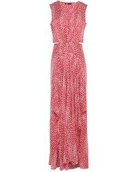 Maje Long Dress - Red