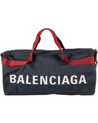 Balenciaga Travel Duffel Bags - Blue