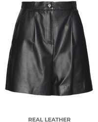 8 by YOOX Shorts - Black