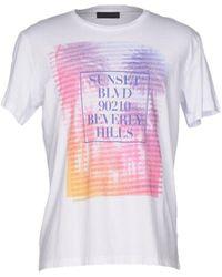 Tru Trussardi T-shirts - Weiß