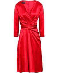 Talbot Runhof Vestito midi - Rosso
