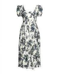 Brock Collection Vestido largo - Blanco