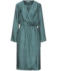 Massimo Alba Midi Dress - Green