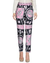 Boutique Moschino Casual Pants - Pink