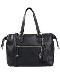 Blue Les Copains Handbag - Black