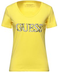 Guess T-shirt - Jaune