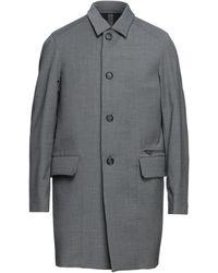 Paolo Pecora Overcoat - Gray