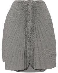 Facetasm Knee Length Skirt - Black