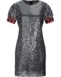 Love Moschino Short Dress - Metallic