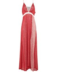 Silvian Heach Long Dress - Red