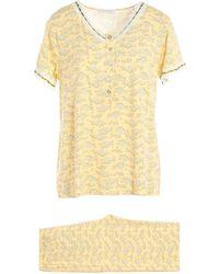 Verdissima Pijama - Amarillo