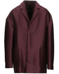 Tom Rebl Coat - Purple