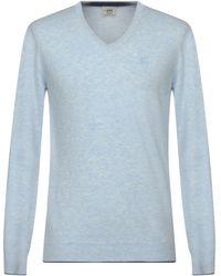 Henry Cotton's Pullover - Bleu