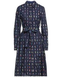 Paul Smith Midi Dress - Blue