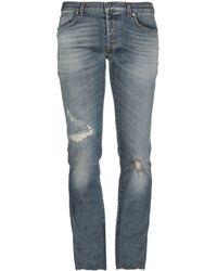 Dior Homme Pantalon en jean - Bleu