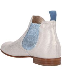 Pertini Ankle Boots - Natural