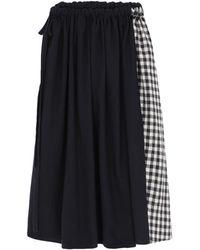 A.B Apuntob 3/4 Length Skirt - Black