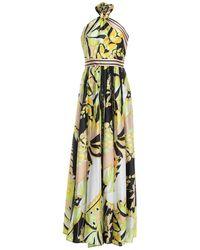 Annarita N. Long Dress - Yellow