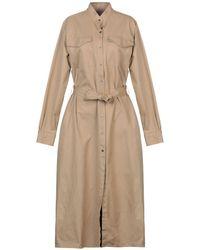 Department 5 3/4 Length Dress - Natural