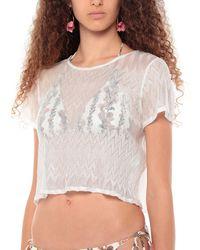 Missoni Vestido de playa - Blanco
