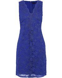 Donna Karan Short Dress - Blue
