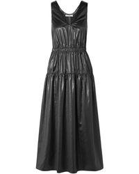 Tibi Long Dress - Black