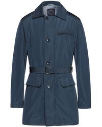 Ivy Oxford Overcoat - Blue