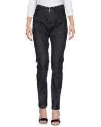 8pm Pantalon en jean - Noir