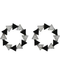 First People First Earrings - Black