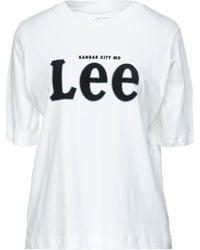 Lee Jeans T-shirts - Weiß