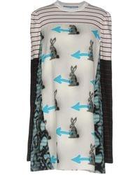 Prada - Short Dresses - Lyst