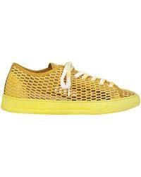 Black Dioniso Low Sneakers & Tennisschuhe - Gelb