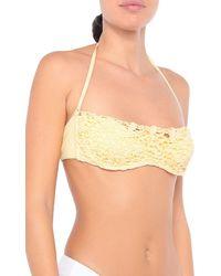 Ermanno Scervino Bikini Top - Yellow