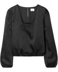 Cami NYC Blouse - Black