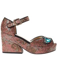 Figue Sandals - Brown