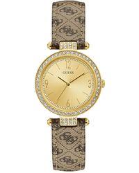 Guess Wrist Watch - Natural