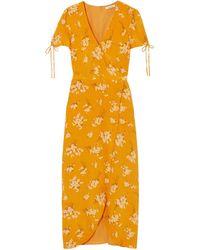 Madewell Long Dress - Orange