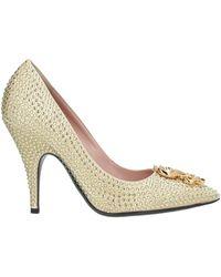 Moschino Court Shoes - Metallic