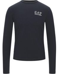 EA7 T-shirts - Blau