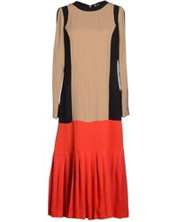 Gattinoni - 3/4 Length Dress - Lyst