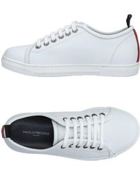 Paolo Pecora Low-tops & Trainers - White