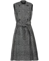 Rochas Coat - Black