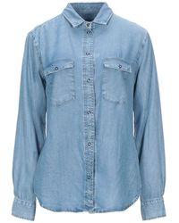 Patrizia Pepe Denim Shirt - Blue