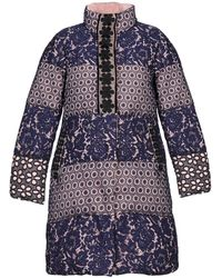 Boutique Moschino Synthetic Down Jacket - Purple