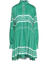Cedric Charlier Vestito corto - Verde