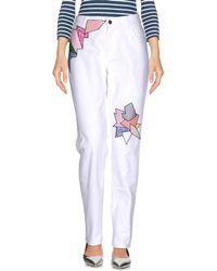 Christopher Kane Denim Trousers - White