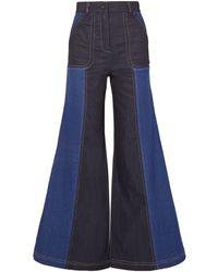 Paper London Denim Trousers - Blue