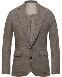 Big Uncle Suit Jacket - Brown